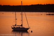 Sailboat at Sunset 1