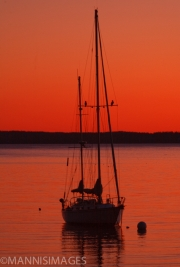 Sailboat at Sunset 2