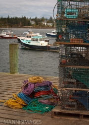 Lobster Traps and Rope