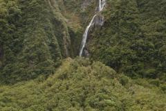 Waterfall Fox Glacier Valley