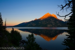 Jenny Lake Sunrise 1